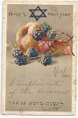 new years card 1906