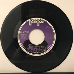 HANK BALLARD:FINGER POPPIN' TIME(RECORD SIDE-A)