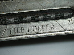 Bristol Hackspace: File Holder