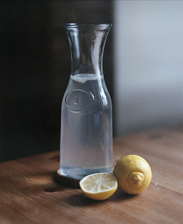 Lemon water, in Cork, Ireland
