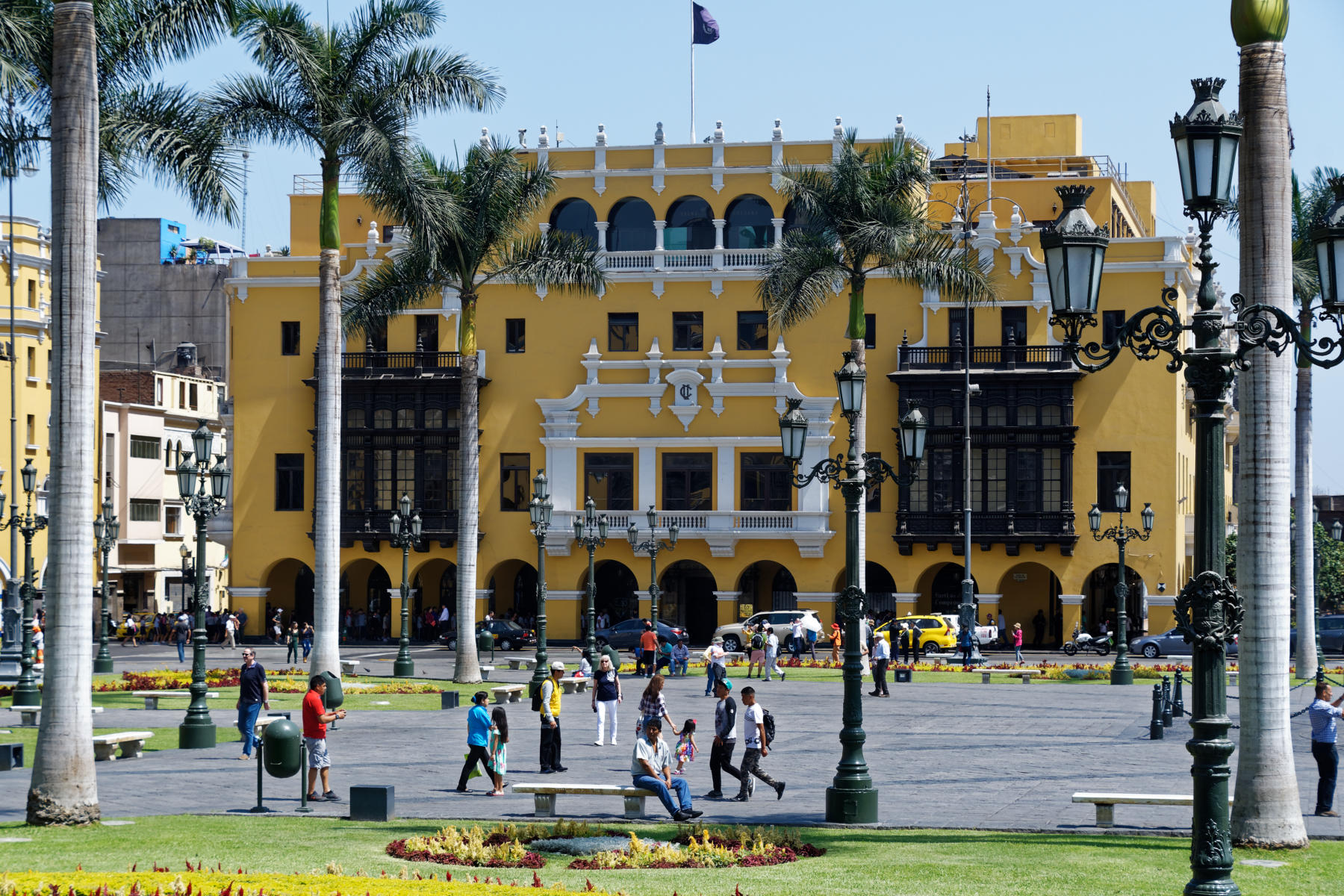 Mayor's office, Lima