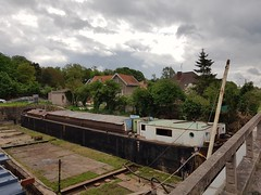 Cale-sèche pour péniche - Watten