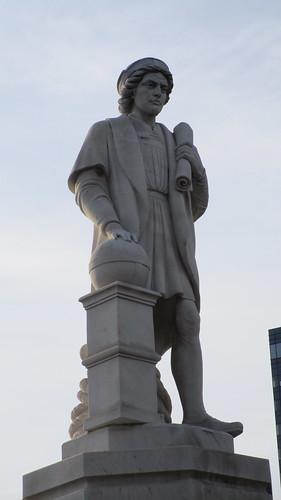 Columbus Piazza, Baltimore, April 21, 2018