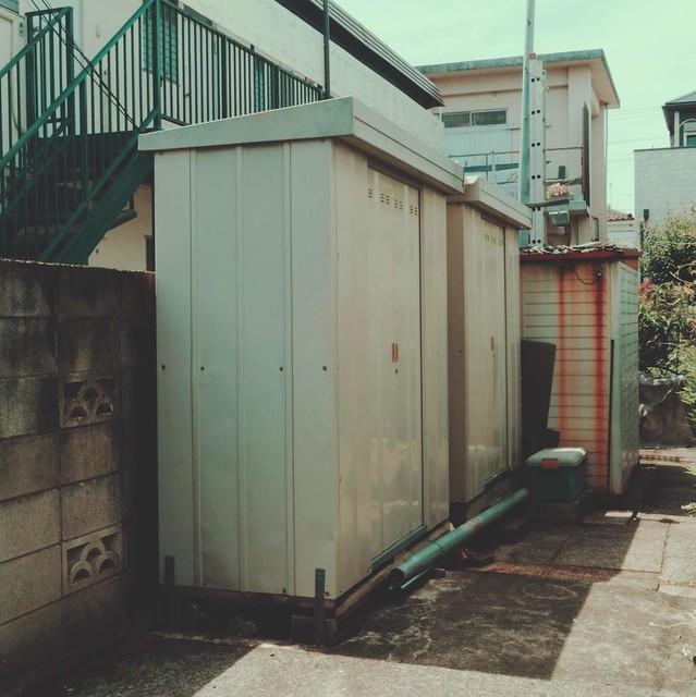 Small storage sheds