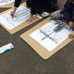 drawing-class-outdoors_16615319323_o