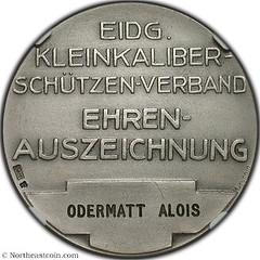 Swiss Shooting Festival Medal reverse