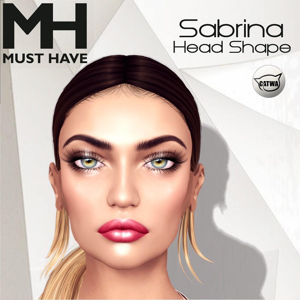 MUST HAVE - Sabrina Head Shape (Catwa Lona) - TeleportHub.com Live!