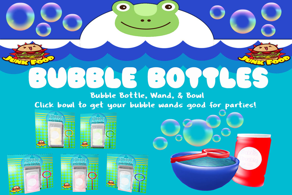 Junk Food - Bubble Bottles - TeleportHub.com Live!