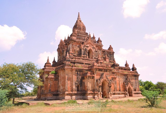 myanmar itinerary bagan temple myauk guni temple