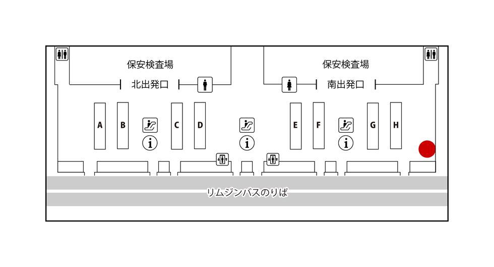 ANAアメックス・関空 JALABCカウンター