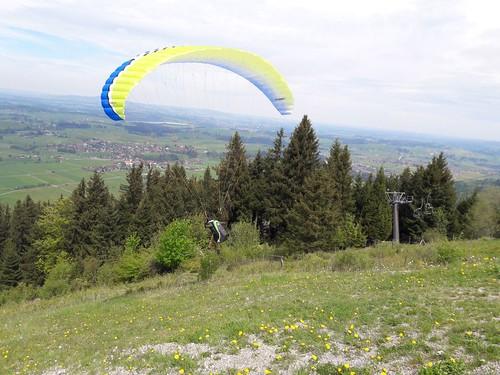 2018-04/05: Gleitschirm Grundkurs&Höhenkurs