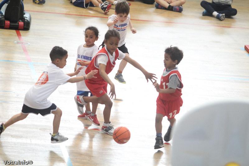 Basket-ball.- rassemblement U7
