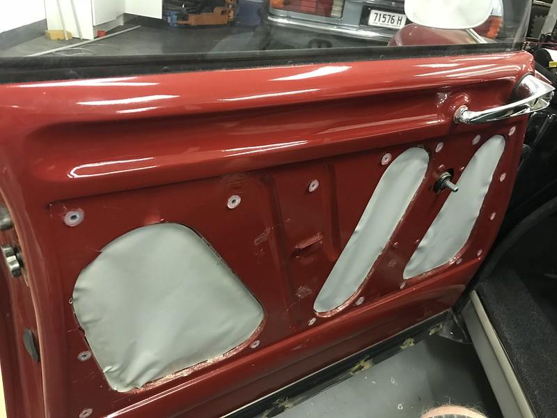 DS Door trim after paint