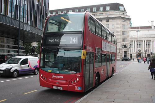 Arriva London T154 LJ60AWC