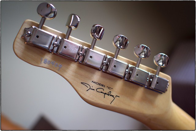 "Hahn ""Jim Campilongo"" Model C Headstock, May 12, 2018"