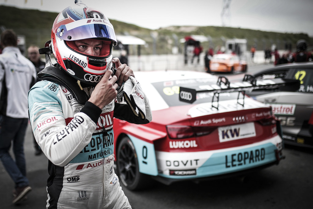 VERNAY Jean-Karl, (fra), Audi RS3 LMS TCR team Audi Sport Leopard Lukoil, portrait during the 2018 FIA WTCR World Touring Car cup of Zandvoort, Netherlands from May 19 to 21 - Photo Jean Michel Le Meur / DPPI