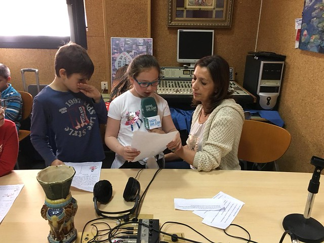 Programa de radio 2º A