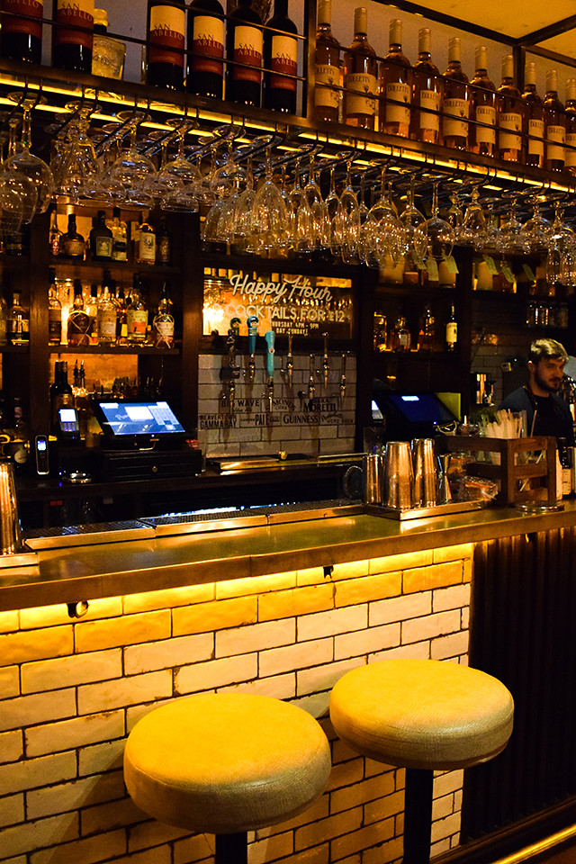 Bar at the Portobello Star, Notting Hill #cocktails #london #nottinghill #portobelloroad