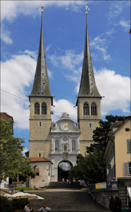 Церковь святого Леодегара, Люцерн, Швейцария