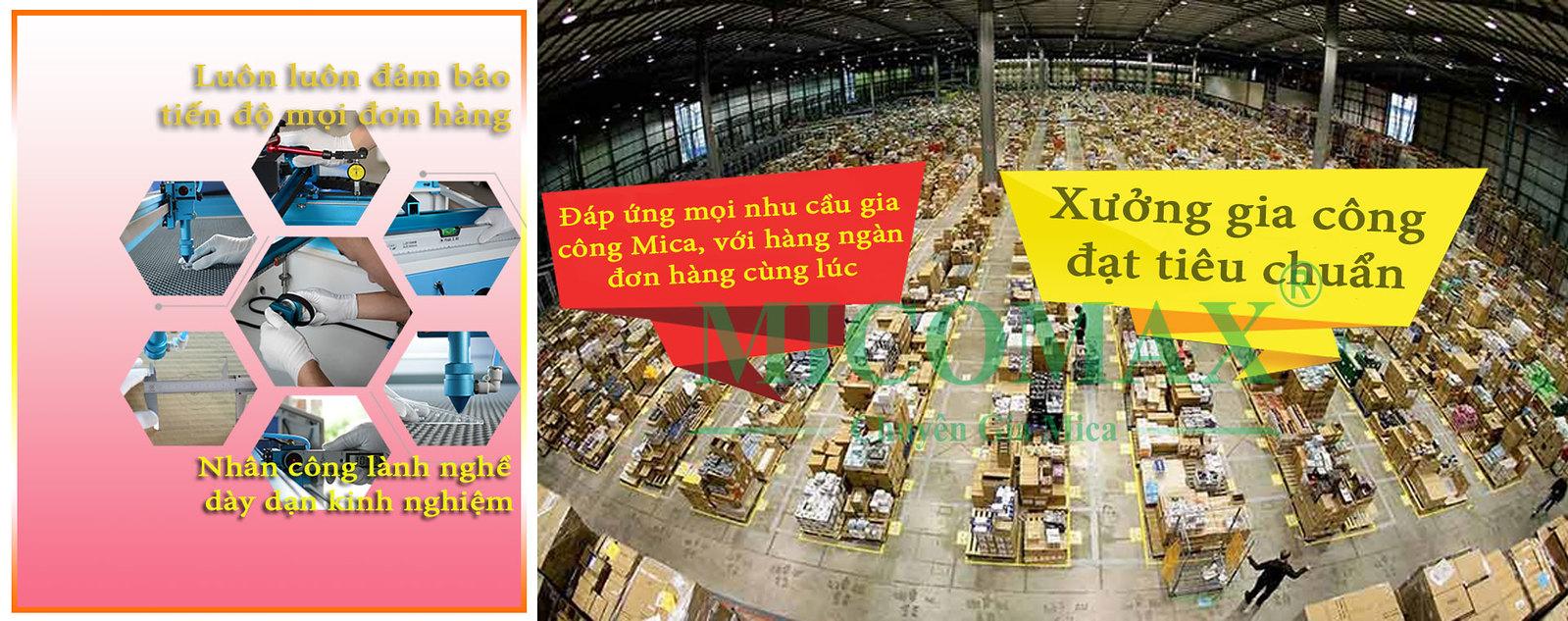 Đại lý Mica Đài Loan lớn nhất tại Hà Nội