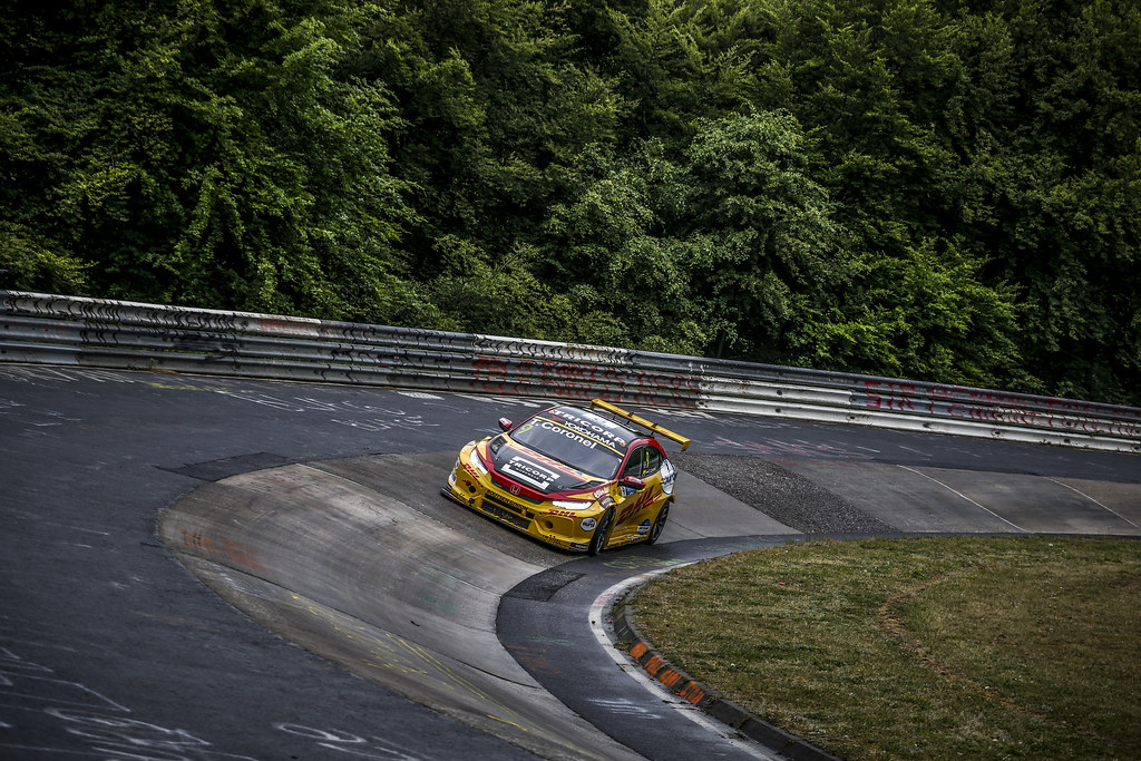 09 CORONEL Tom (NLD), Boutsen Ginion Racing, Honda Civic TCR, action during the 2018 FIA WTCR World Touring Car cup of Nurburgring, Germany from May 10 to 12 - Photo Clement Marin / DPPI