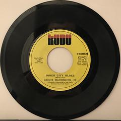GROVER WASHINGTON, JR.:INNER CITY BLUES(RECORD SIDE-A)