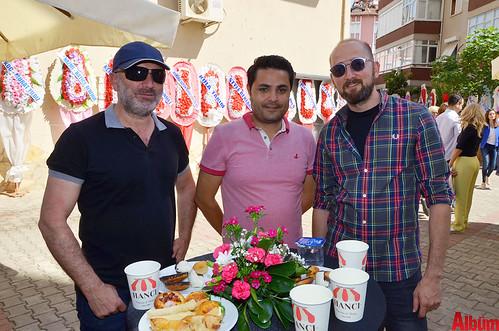 Yusuf Erdoğan, Selman Alaettinoğlu, Hüseyin Şenli.