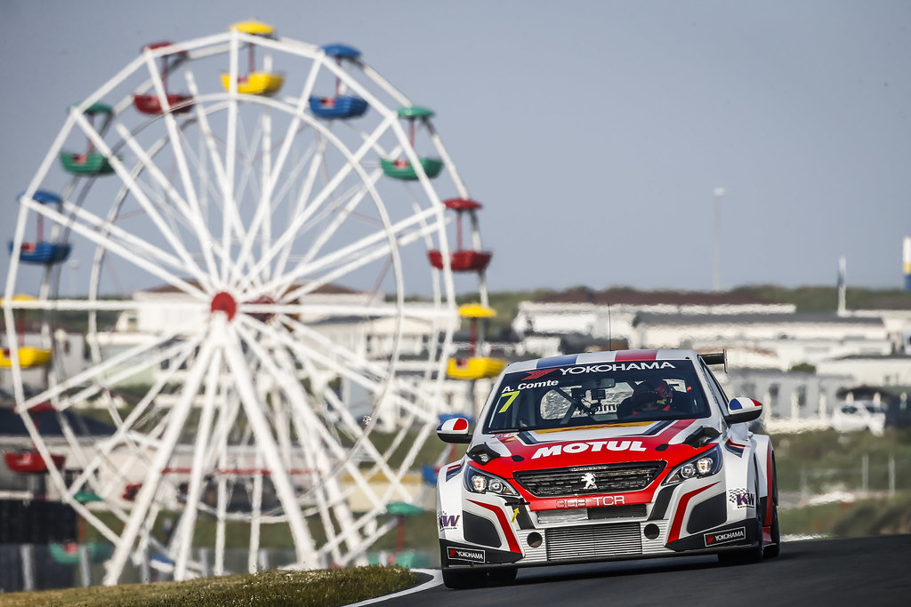 07 COMTE Aurelien, (fra), Peugeot 308 TCR team DG Sport Competition, action during the 2018 FIA WTCR World Touring Car cup of Zandvoort, Netherlands from May 19 to 21 - Photo Francois Flamand / DPPI