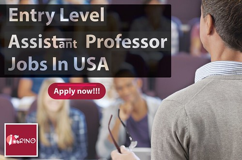 Entry Level Assistant professor jobs in USA