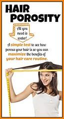 Hair porosity - A si