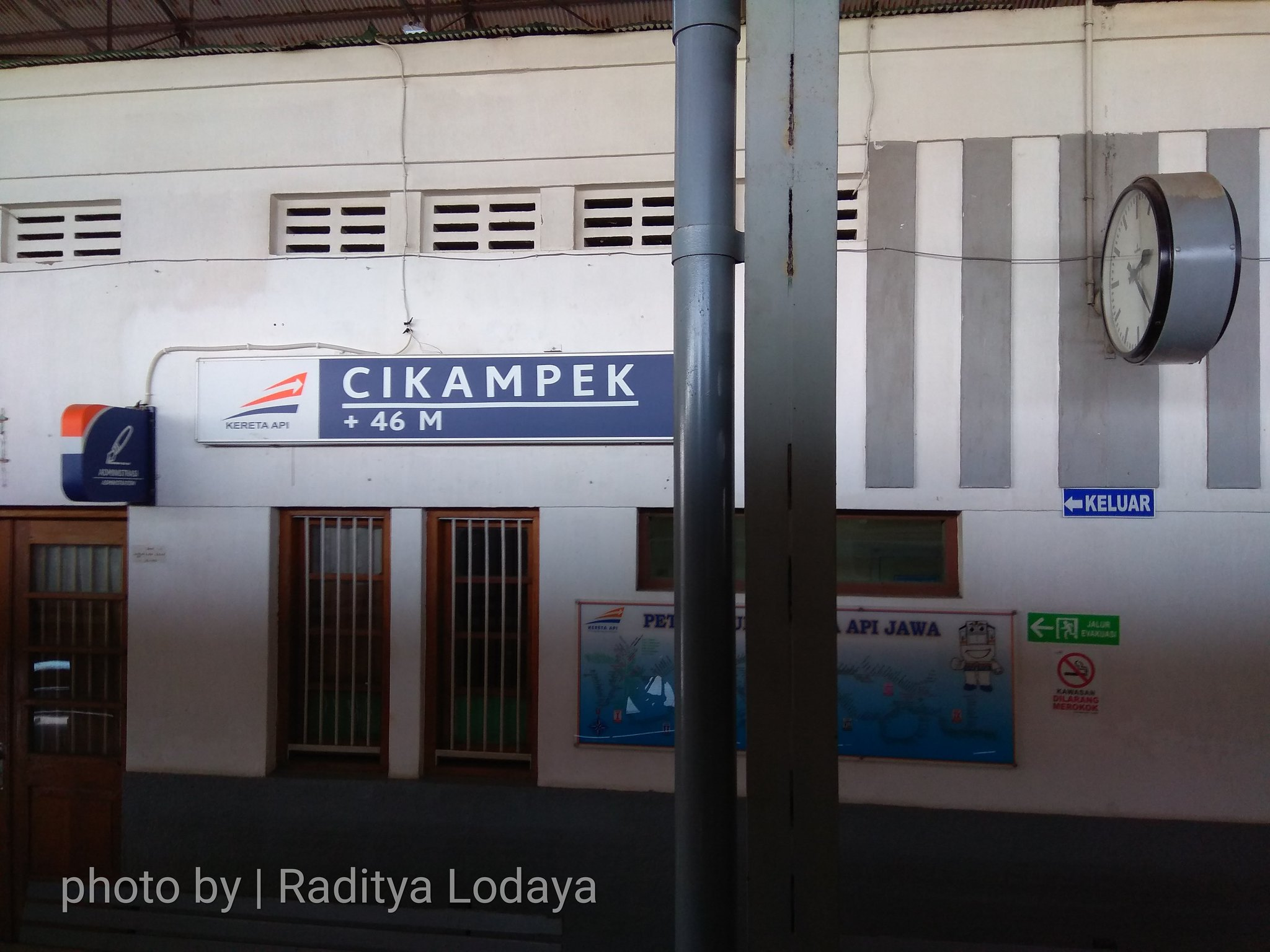 06 TRIP REPORT KERETA API JAYABAYA 1 (JAKARTA-CIREBON) -- STASIUN CIKAMPEK 3