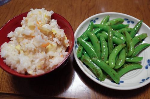 0425-6スナップエンドウ炒め-4