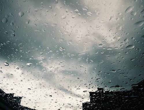 Chove en Santiago. #rain #santiagodecompostela #compostela #lluvia #nubes #phonephoto
