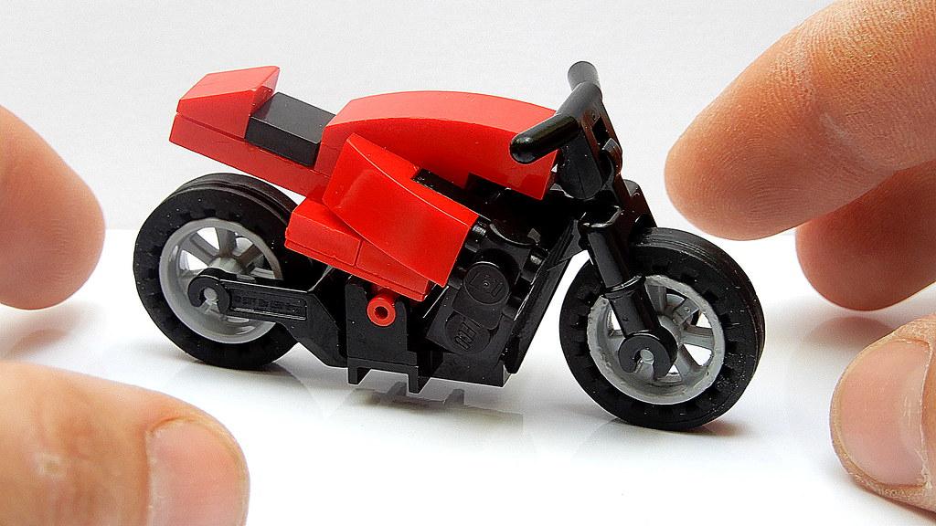 Lego Naked Bike (MOC - 4K)