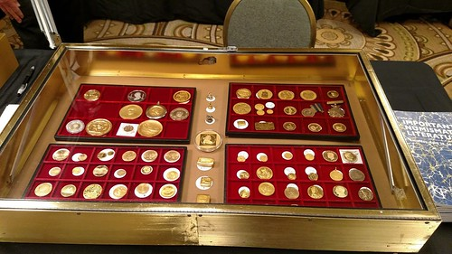 2018 April Chicago Coin Expo Bill Burd table