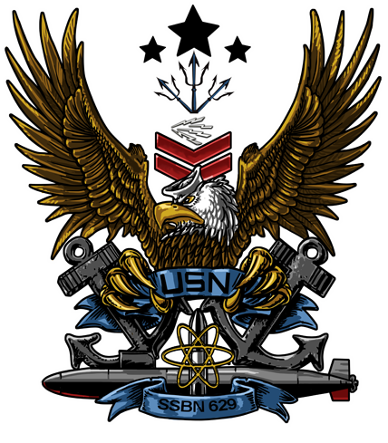 USS Daniel Boone. SSBN-629