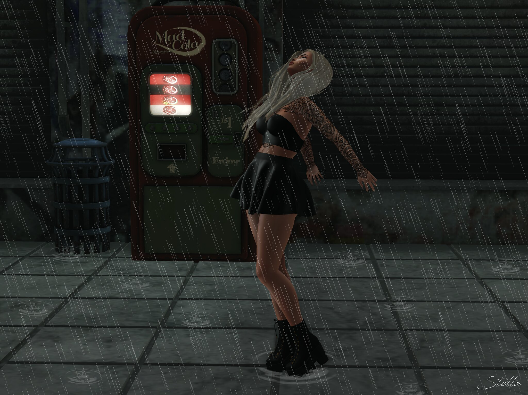 Feel the rain on my skin