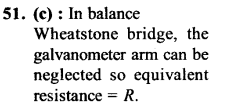 NEET AIPMT Physics Chapter Wise Solutions - Current Electricity explanation 51