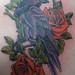 Raven tattoo by greyloch