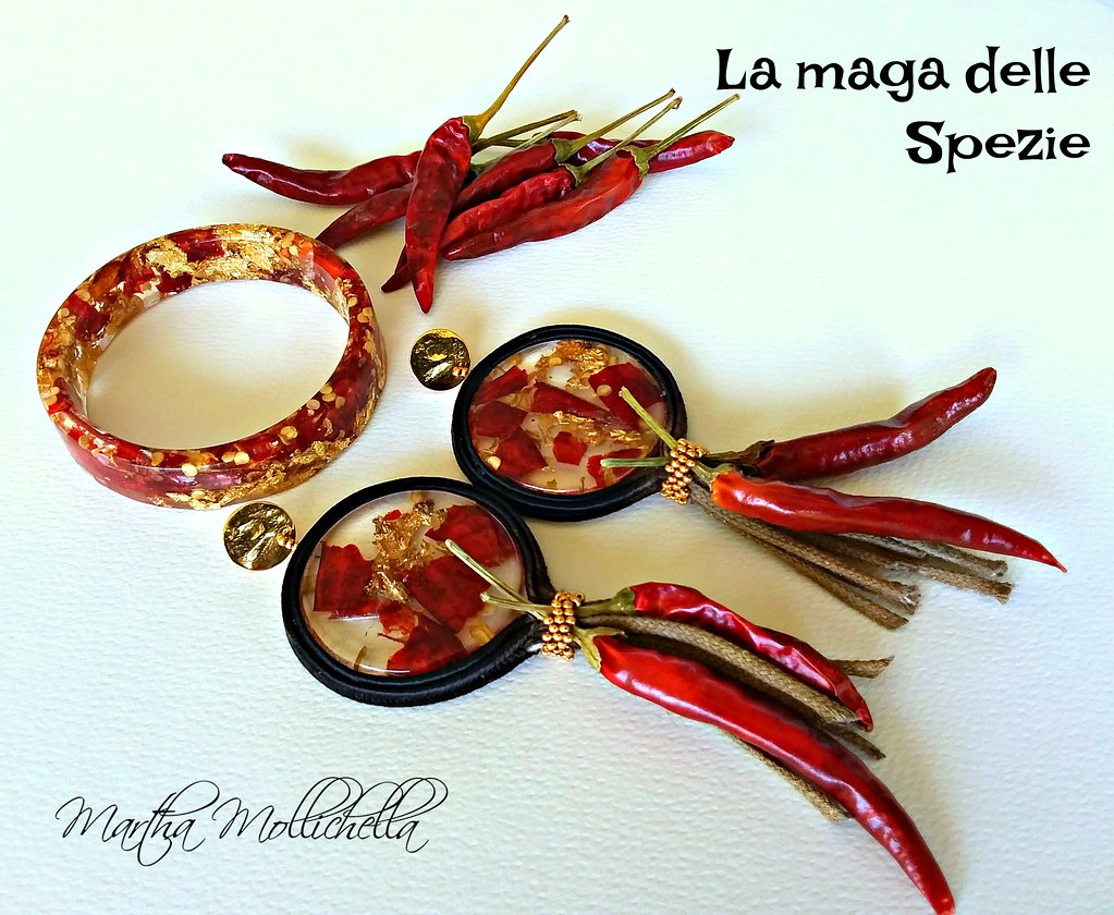 Martha Mollichella Handmade Jewelry La maga delle spezie gioielli