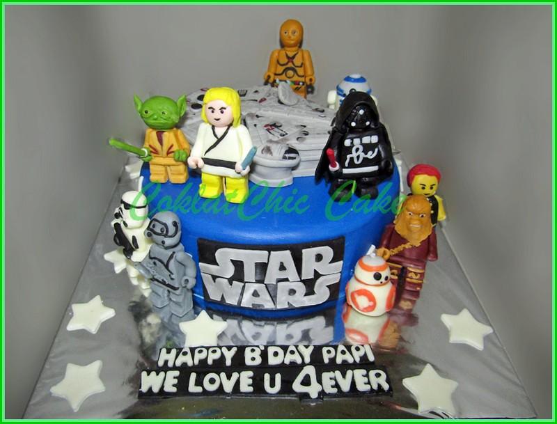 Cake Star Wars PAPI 15 cm