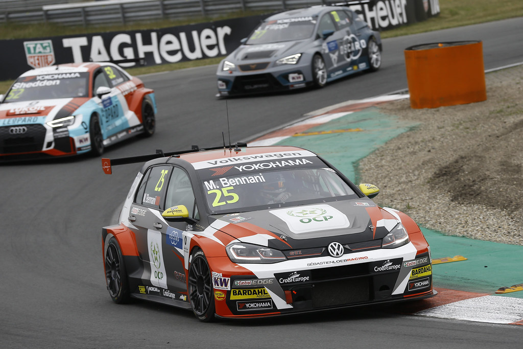 25 BENNANI Mehdi (mar), Volkswagen Golf GTI TCR team Sebastien Loeb Racing, action during the 2018 FIA WTCR World Touring Car cup of Zandvoort, Netherlands from May 19 to 21 - Photo Jean Michel Le Meur / DPPI