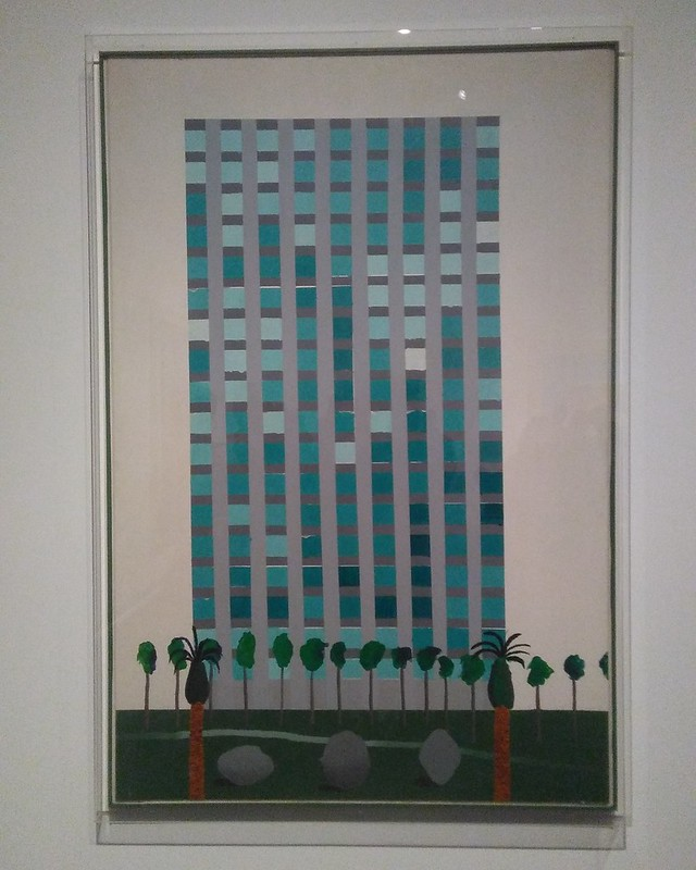 Medical Building (1966) #newyorkcity #newyork #manhattan #metmuseum #davidhockney #hockney #latergram