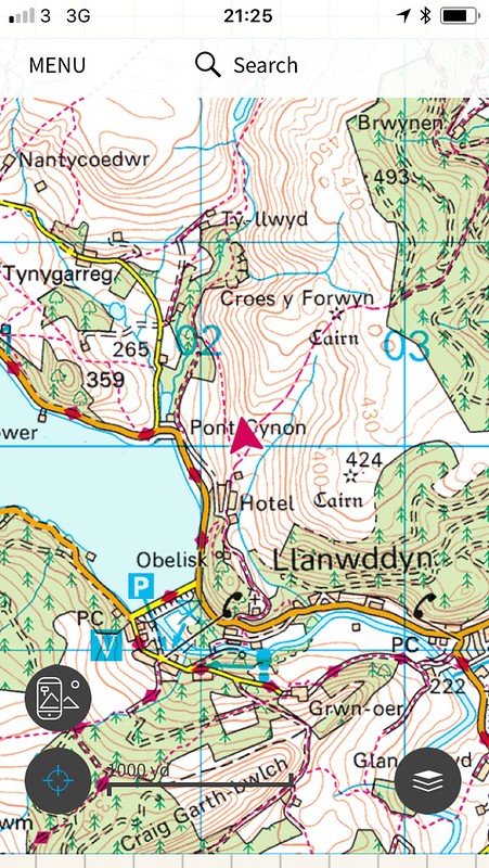 Bivvy spot day 2 - Llyn Efyrnwy