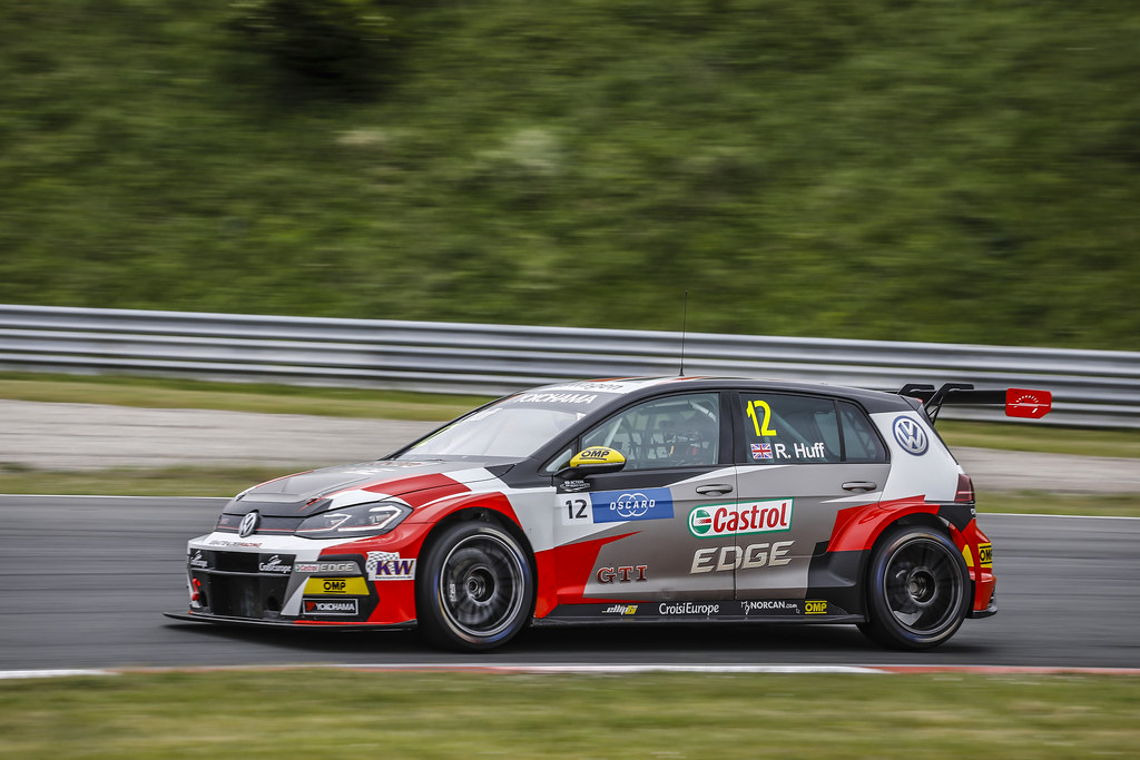 12 HUFF Rob, (gbr), Volkswagen Golf GTI TCR team Sebastien Loeb Racing, action during the 2018 FIA WTCR World Touring Car cup of Zandvoort, Netherlands from May 19 to 21 - Photo Francois Flamand / DPPI