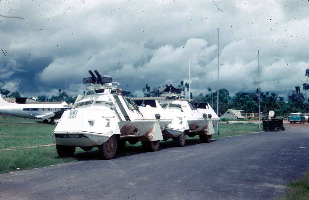 Tgbil m/42. Swedish built and provided to the UN trops in Congo at the of the congo crises 1960 or so. E'ville airport (Elisabetville) Katanga