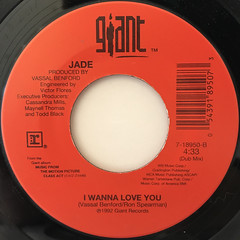 JADE:I WANNA LOVE YOU(LABEL SIDE-B)