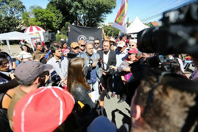 Lideranças sindicais anunciaram que ato está previsto para às 16h, no centro da capital paranaense - Créditos: Joka Madruga