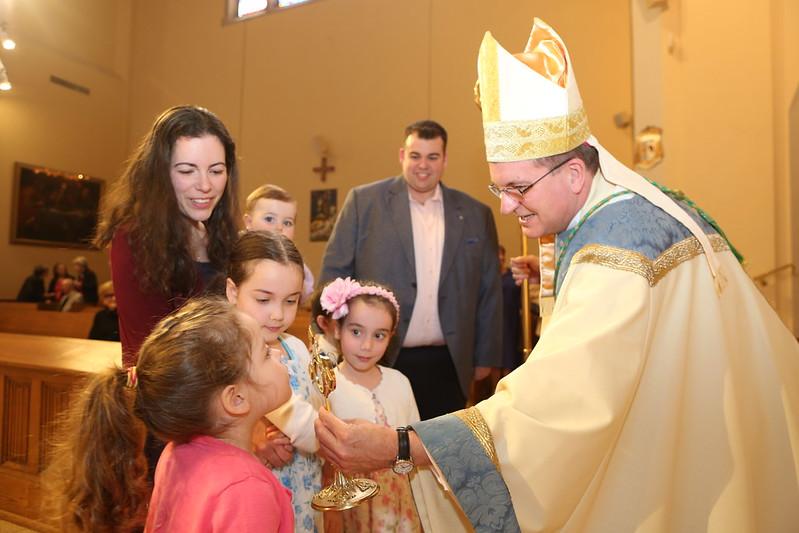 DRVC +JB St Gianna Molla Feast Mass St Agnes RVC 042818