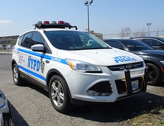NYPD Police Academy Driver Training 5542 - 2014 Ford Escape (9)